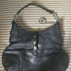 Michael Kors magnetic closure leather bag